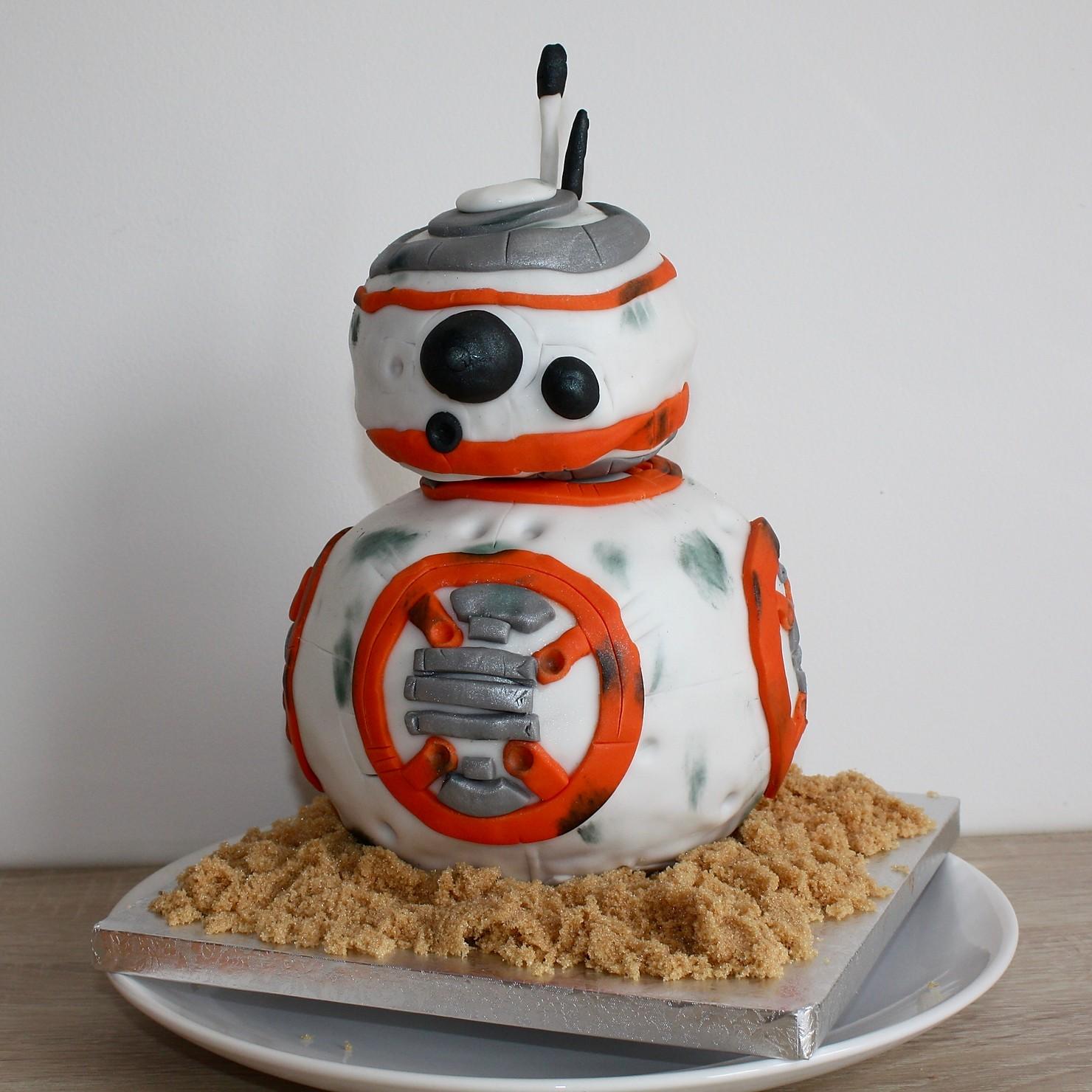 Gâteau star wars bb8