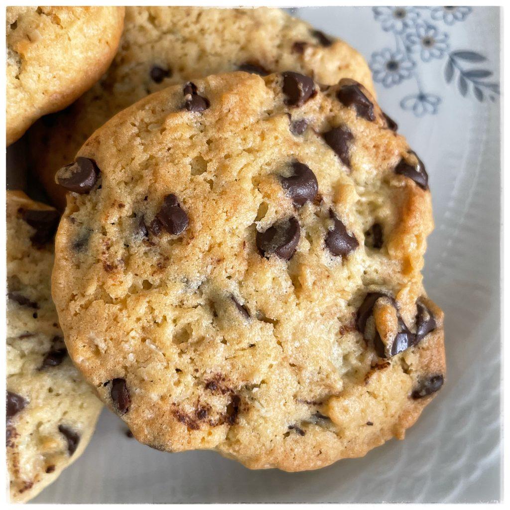 Zoom cookie au chocolat