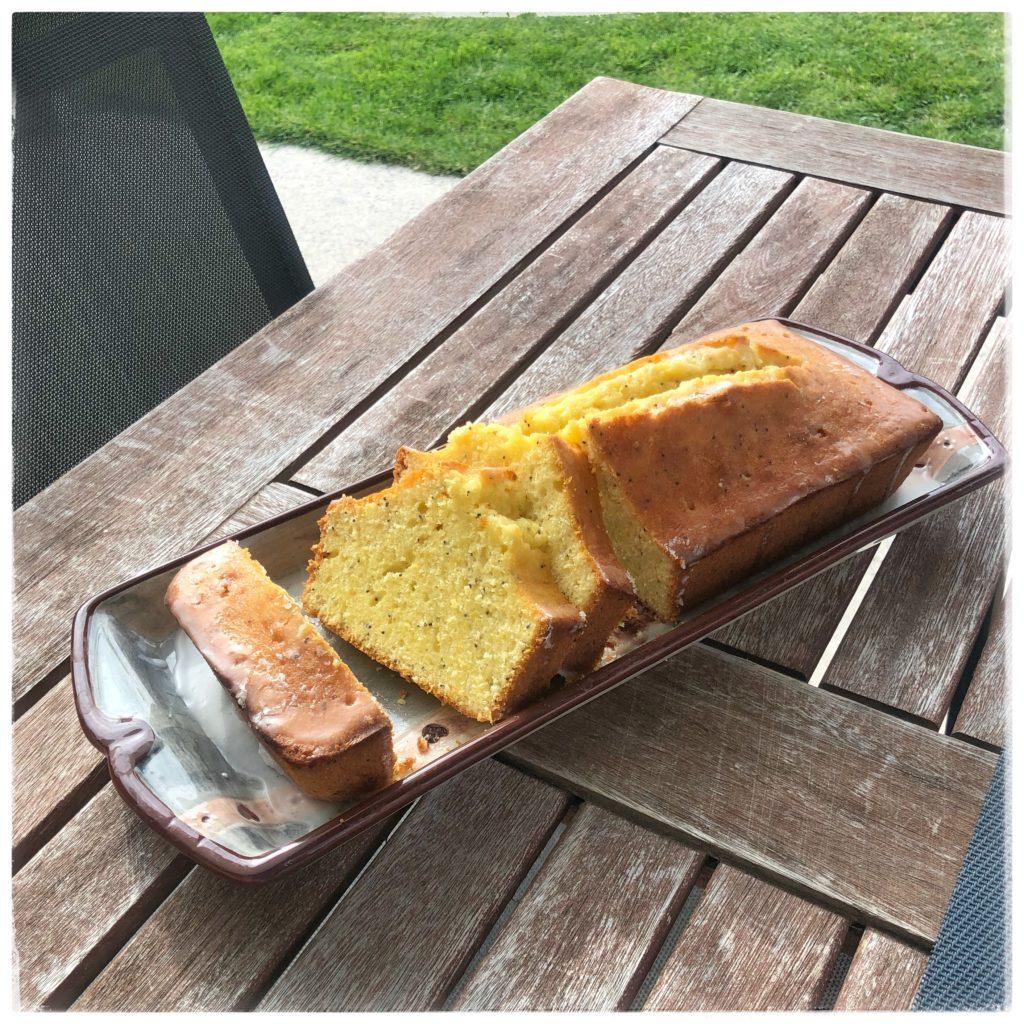 Gâteau citron pavot