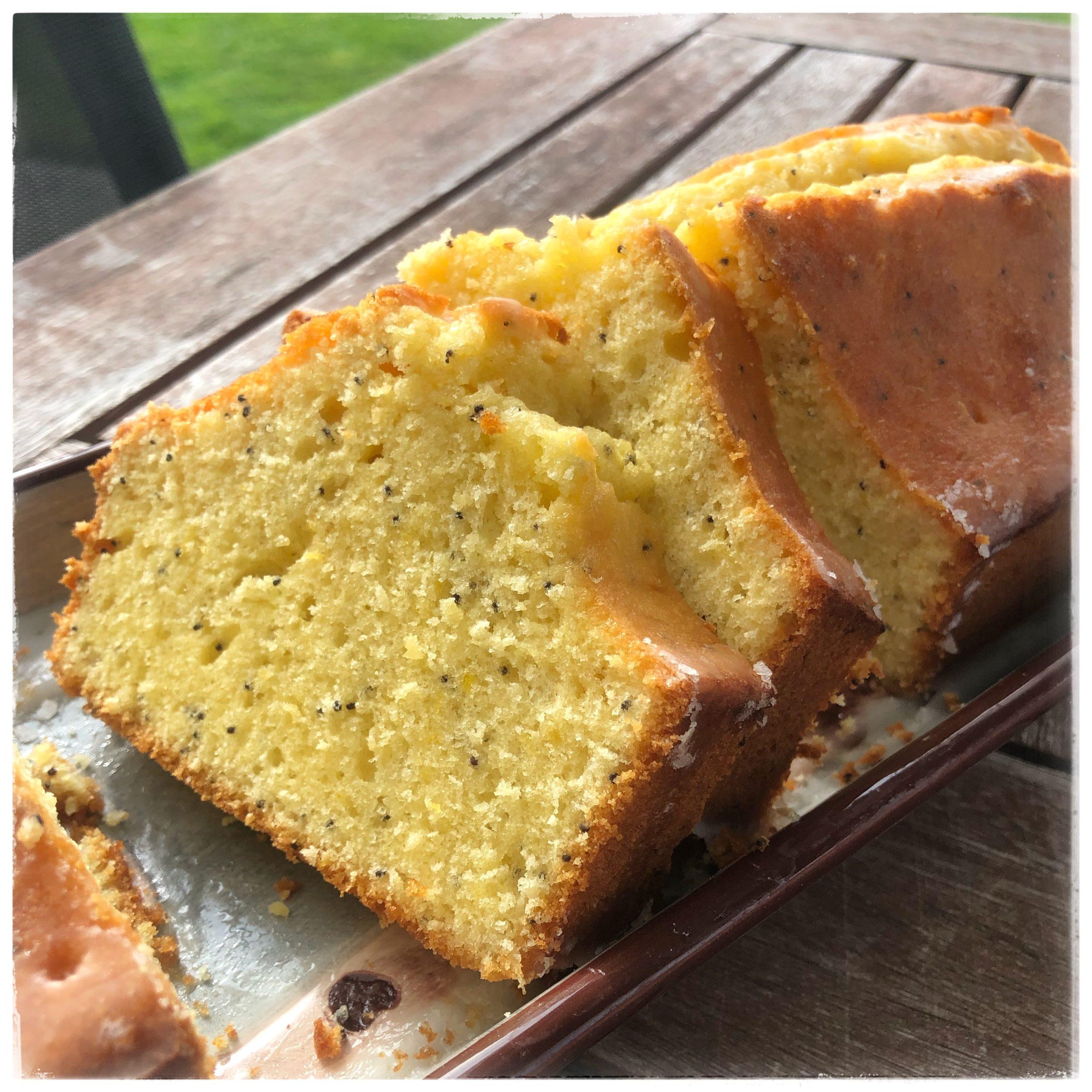 Gâteau au citron pavot
