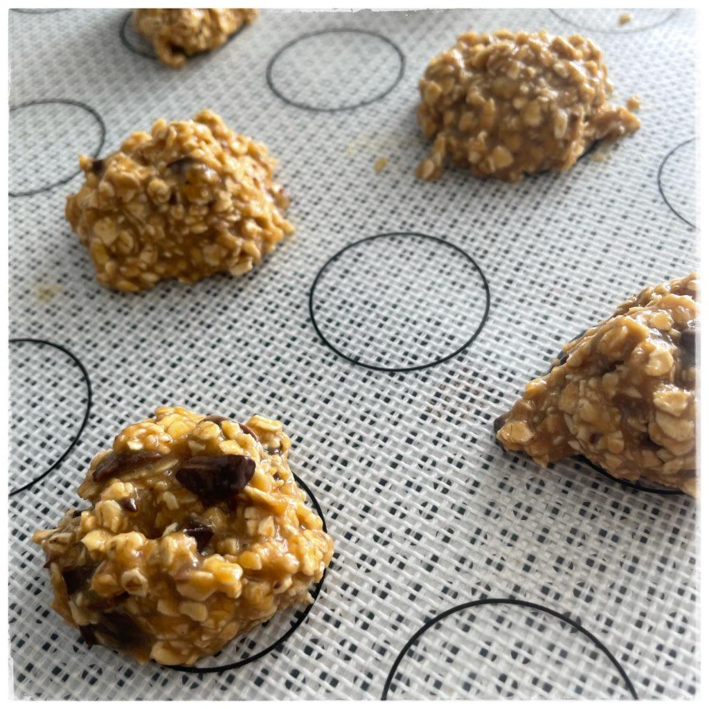 Cookies en attente de cuisson