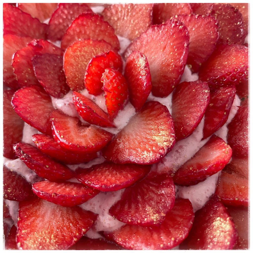 Zoom sur les fraises